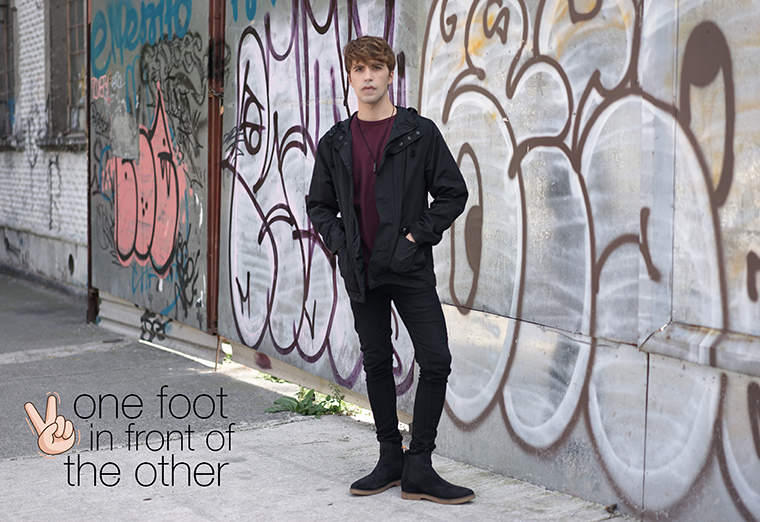 one foot in front of the other Frank Wright chelsea boots review