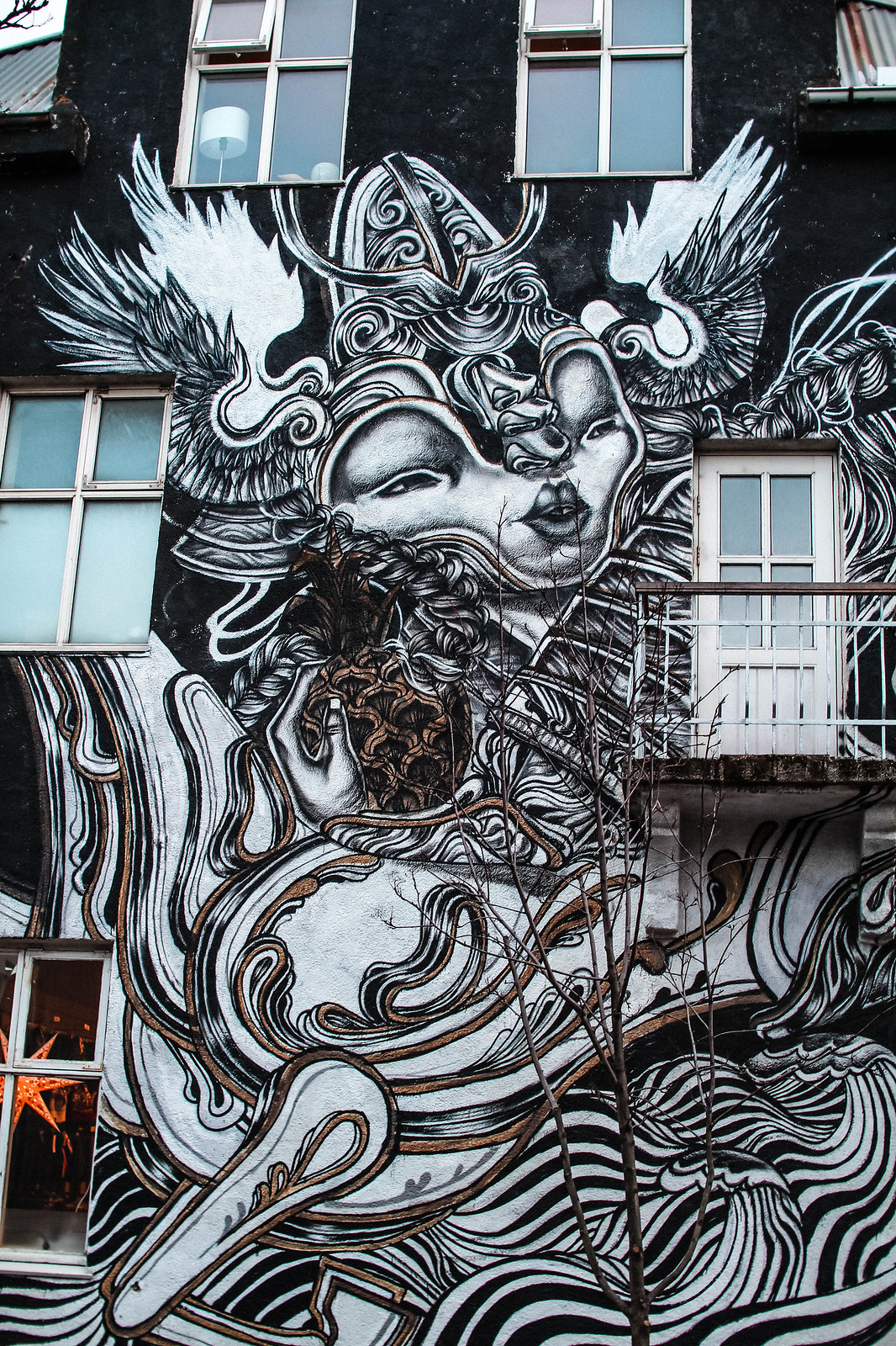 Reykjavik Street Art Iceland travel blogger guide UK The Little Things