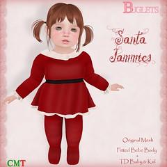 Santa Jammies AD