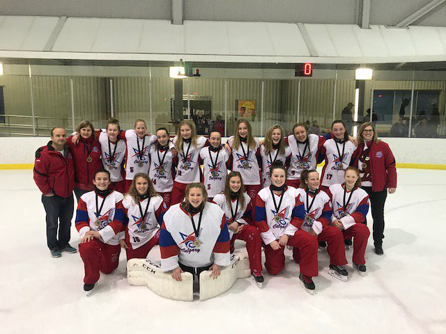 Nov 26, 2017 - Edm Wood - U14AA Blue wins Gold