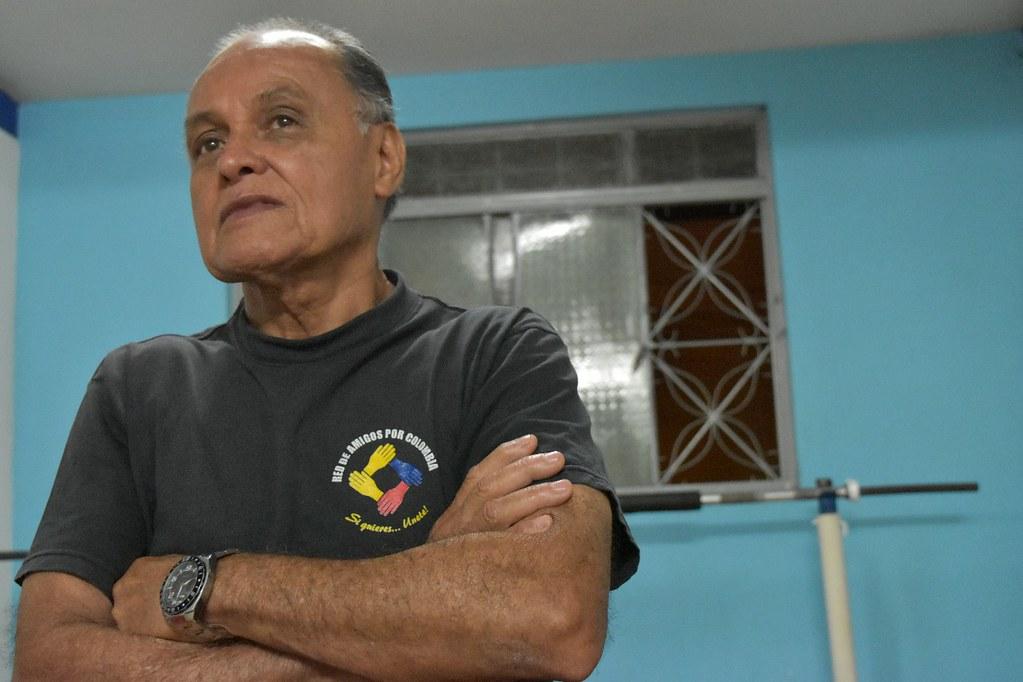 Una historia tras las pesas: Antonio Cristancho