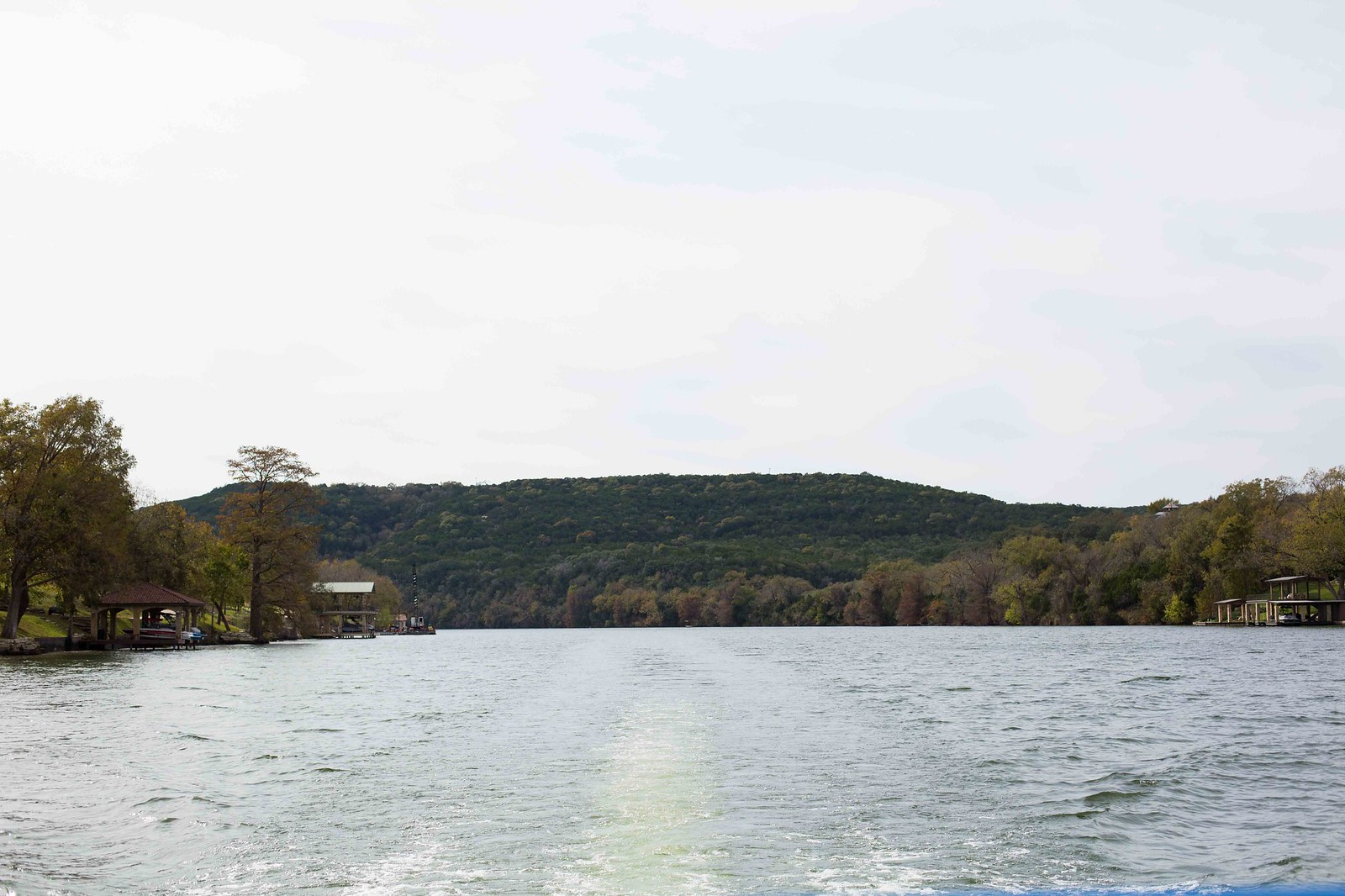 take a boat ride on lake austin