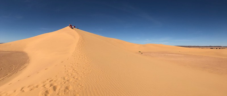Extreme Environments - Dunes near Mhamid, Morocco