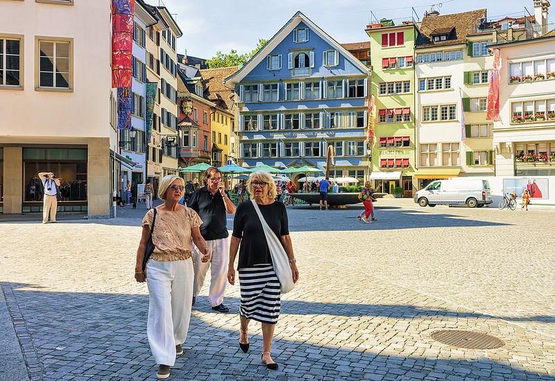 Swiss Retirees Have It Good