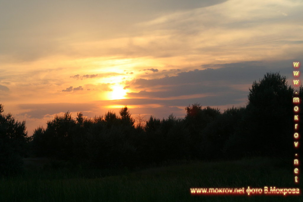 Закат пейзажи