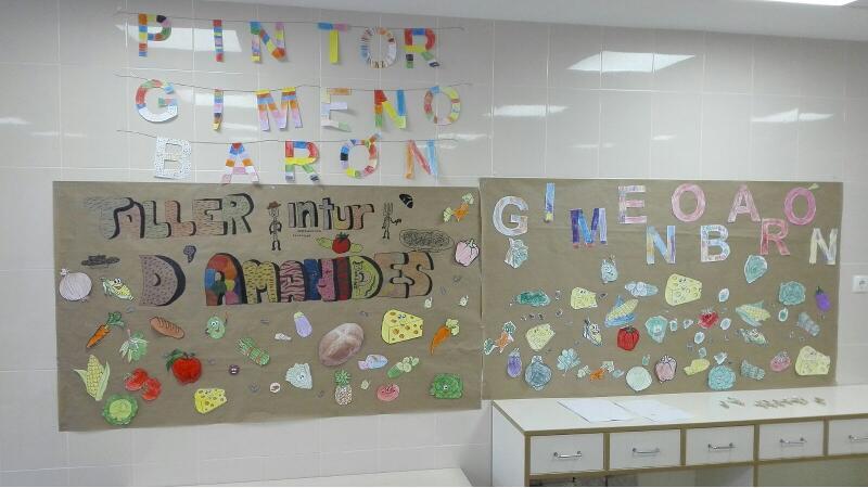 Curs 2017-18 - Menjador Escolar - Taller d'Amanides