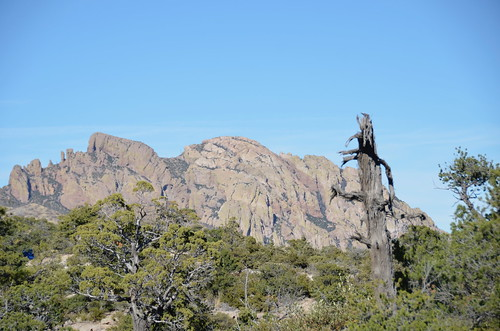 Chiricahua National Monument near the begining