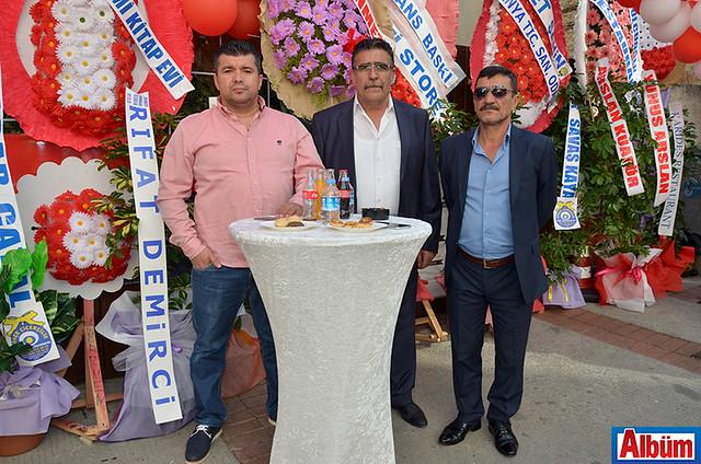 Osman Keskin, Mehmet Yıldırım, Arif Yılmaz