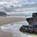 The beach at Mawgan Porth, Cornwall