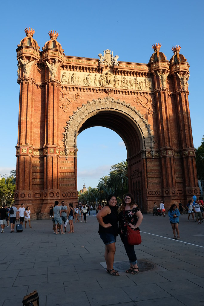 Arc de Triomf   Spain and Portugal Itinerary
