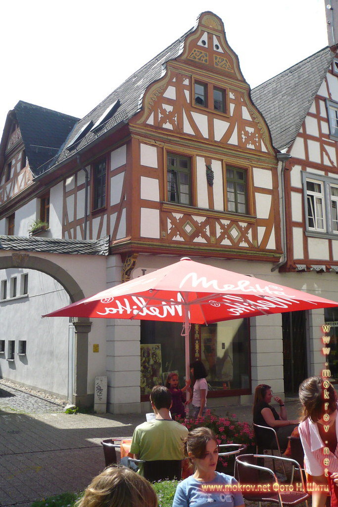 Исторический центр Лимбург на Лане фотозарисовки