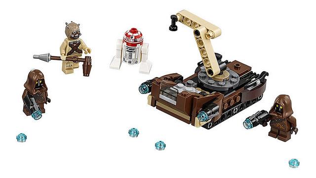 年邁的路克·天行者人偶終於現身!!LEGO 星際大戰系列《星際大戰八部曲:最後的絕地武士》第二波盒組公開!!