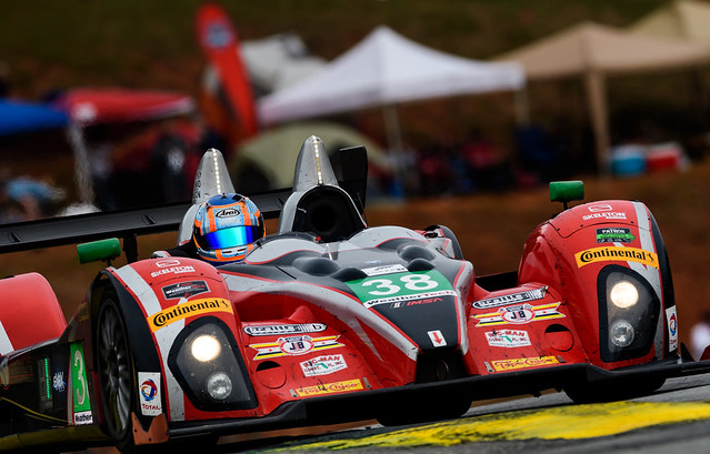 Last race for the Oreca FLM09
