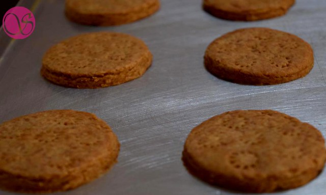 Eggless Homemade Atta Biscuits With Jaggery And Whole Wheat