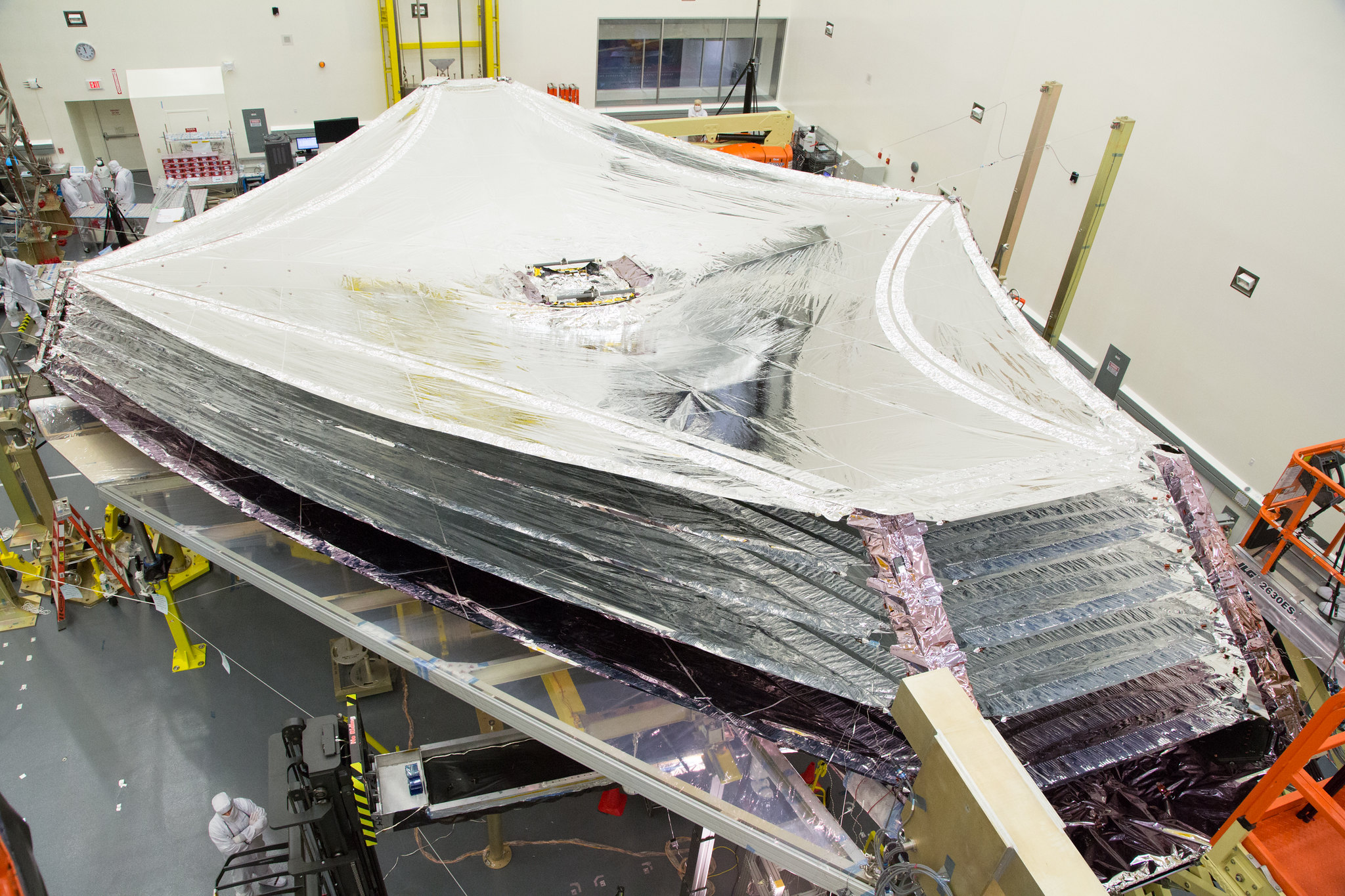 The Flight Sunshield at Northrop Grumman
