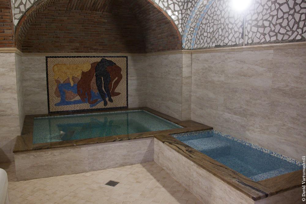 Georgia, Tbilisi, sulfur baths / Тбилисские серные бани