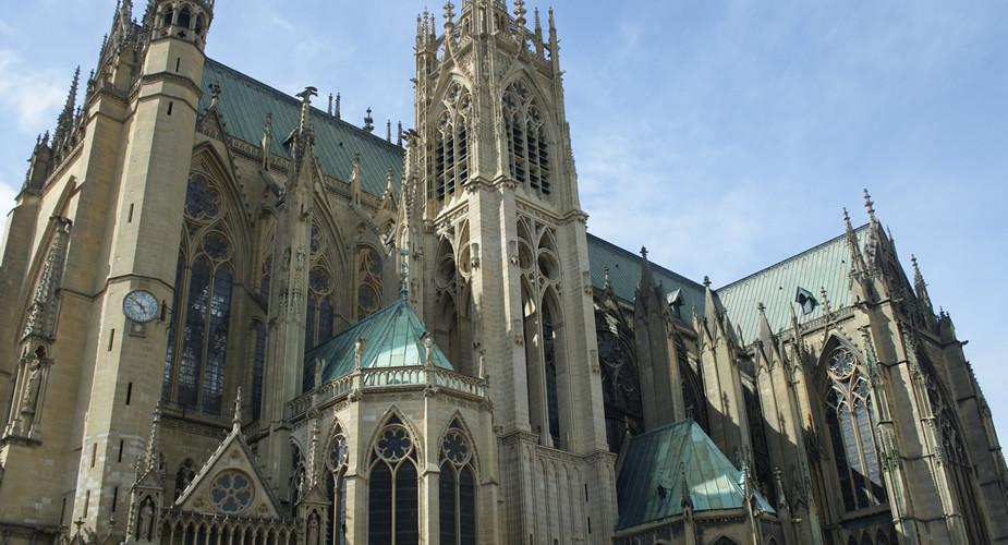 Bezienswaardigheden Metz, Kathedraal Saint Etienne | Mooistestedentrips.nl