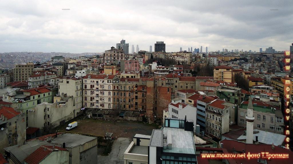 Исторический центр Город Стамбул — Турция сделанные как днем, так и вечером