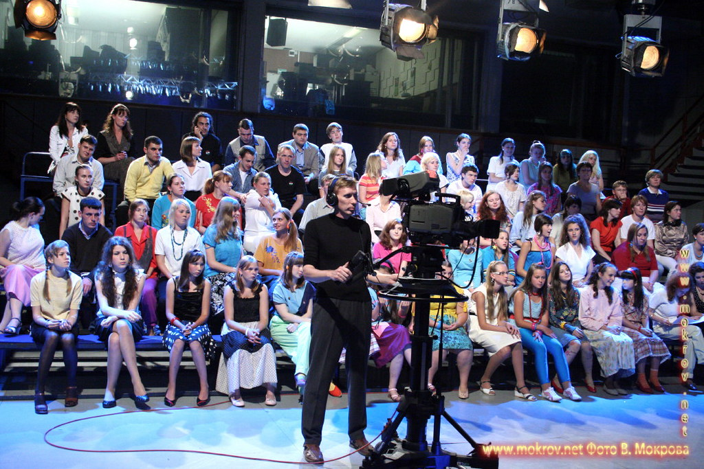 На съемках худ. фильма «Ласковый май» с Фотоаппаратом