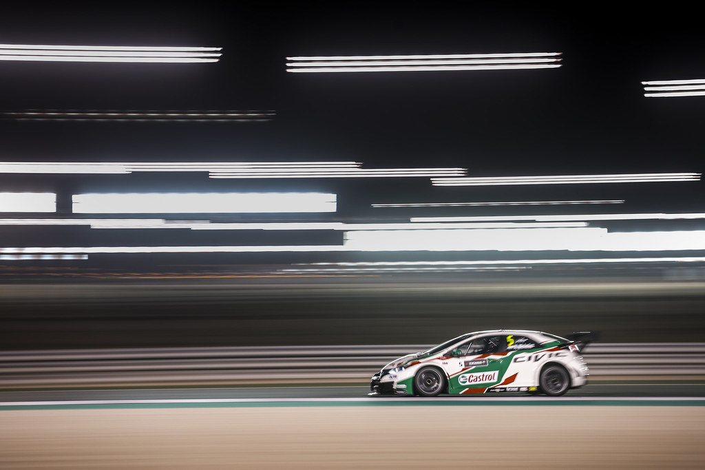 05 MICHELISZ Norbert, (hun), Honda Civic team Castrol Honda WTC, action during the 2017 FIA WTCC World Touring Car Championship race at Losail  from November 29 to december 01, Qatar - Photo Francois Flamand / DPPI