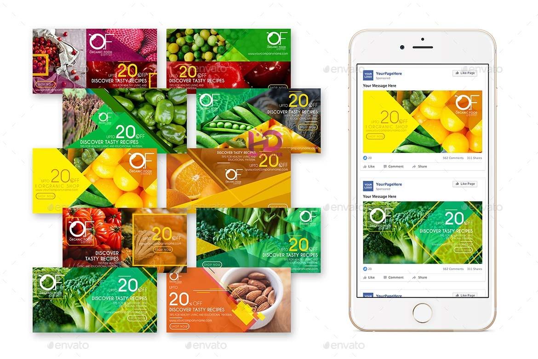 40 Banner quảng cáo Facebook rất sáng tạo