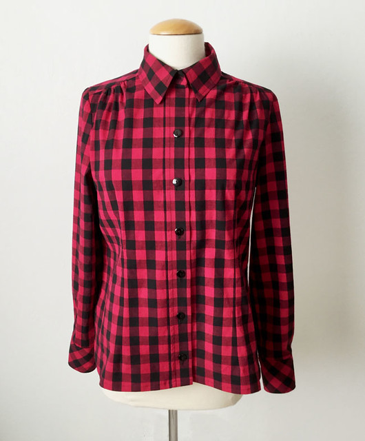 check shirt on form front view
