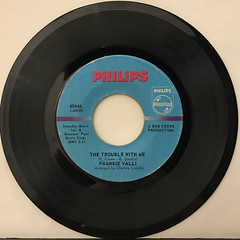 FRANKIE VALLI:CAN'T TAKE MY EYES OFF YOU(RECORD SIDE-B)