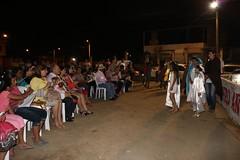 En ciudadela San Rafael se vivió primer día de la Novena Itinerante