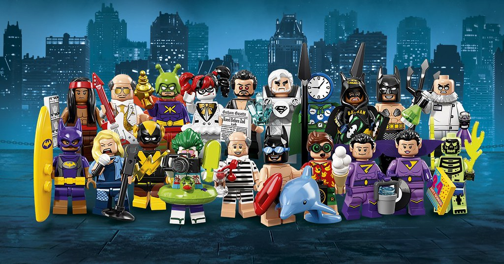 LEGO The Batman Movie 71020 - Collectible Minifigures Series 2