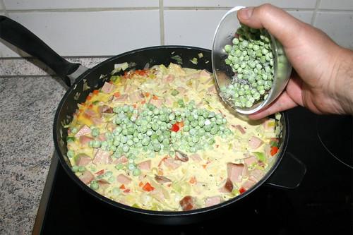 46 - Erbsen dazu geben / Add peas
