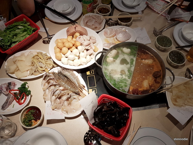 Hot pot feast