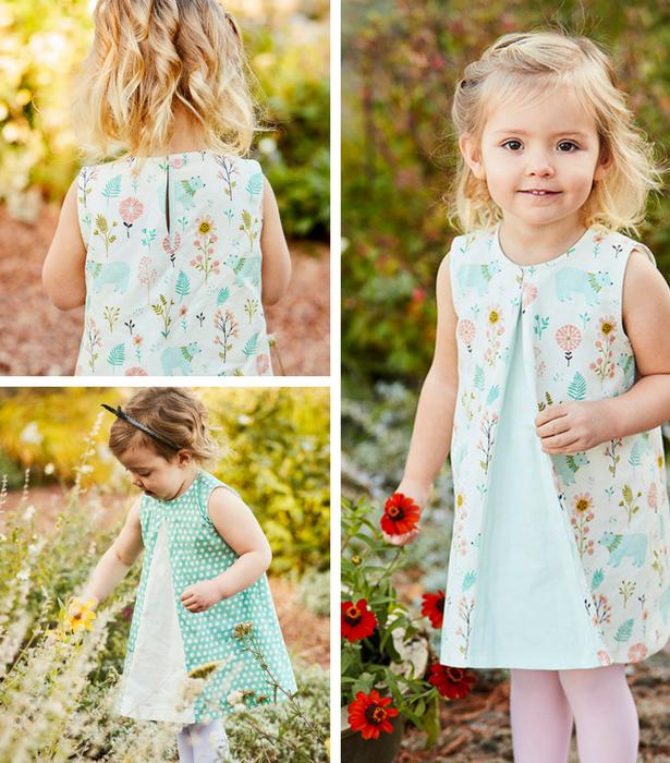 Girl's Sleeveless Dress 2