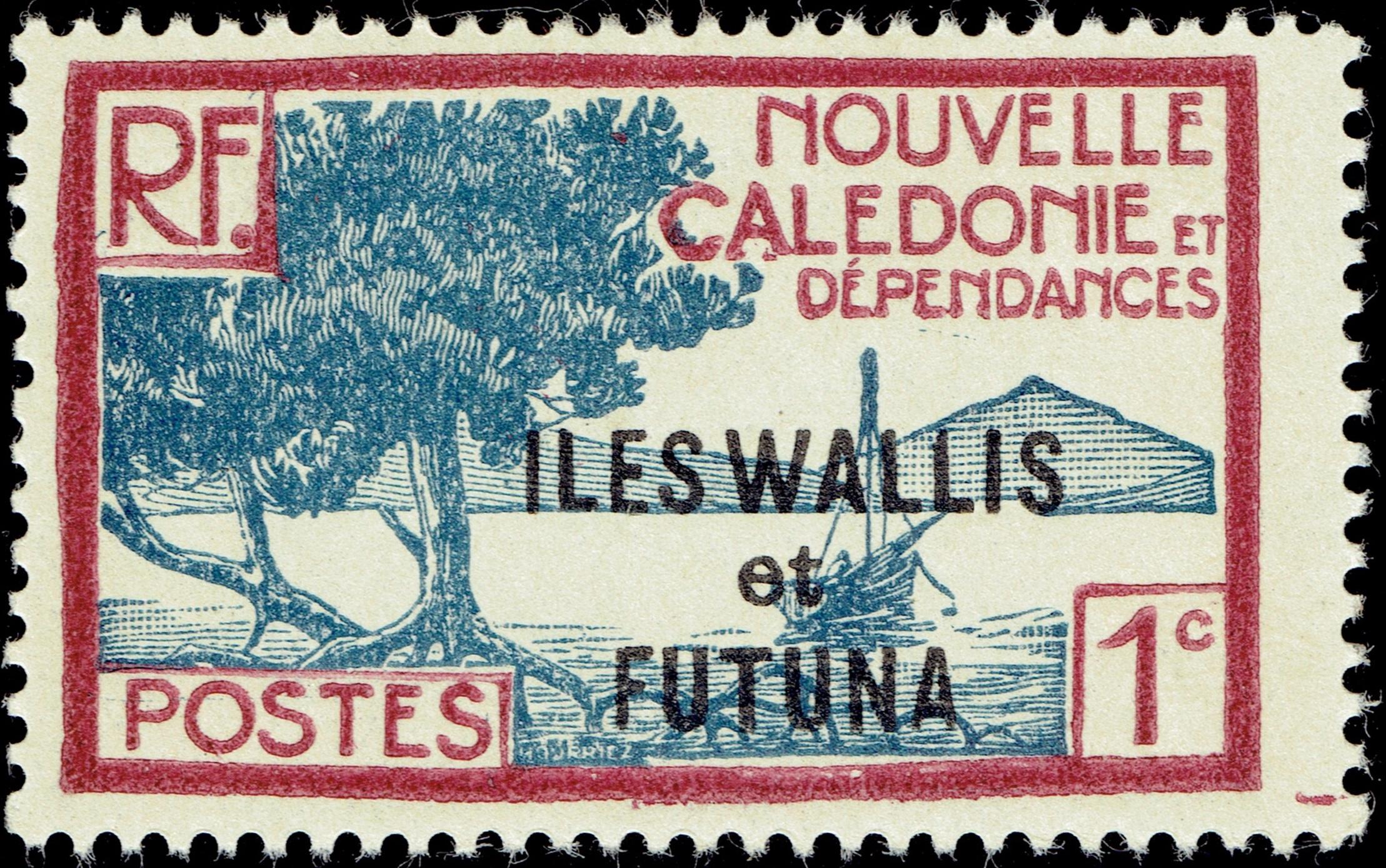 Wallis and Futuna - Scott #43 (1930)