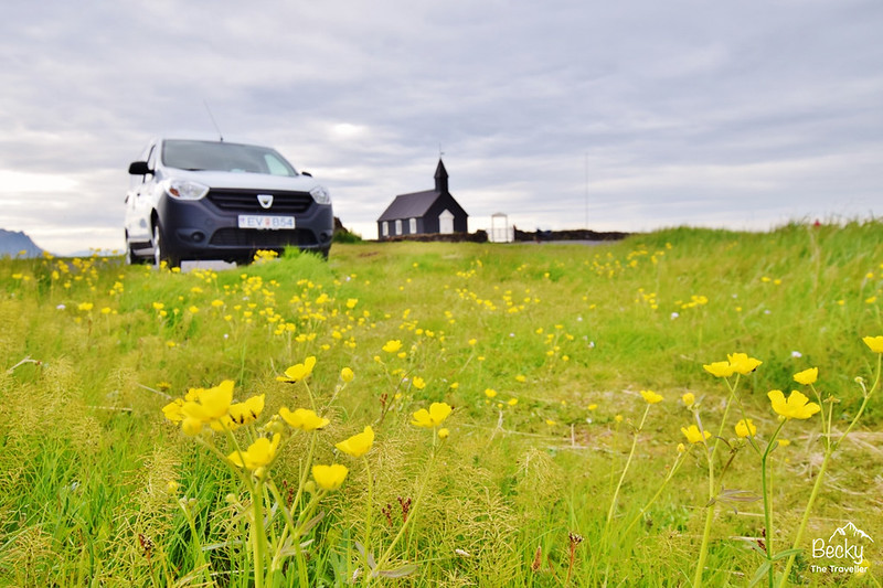 Planning a trip to Iceland - Stopping off in the campervan on the road trip at the Black Church