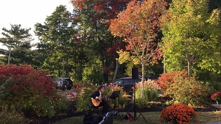 Fall Foliage at Pemaquid Hall.