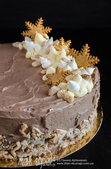 Муссовый торт клубника шампанское рецепт