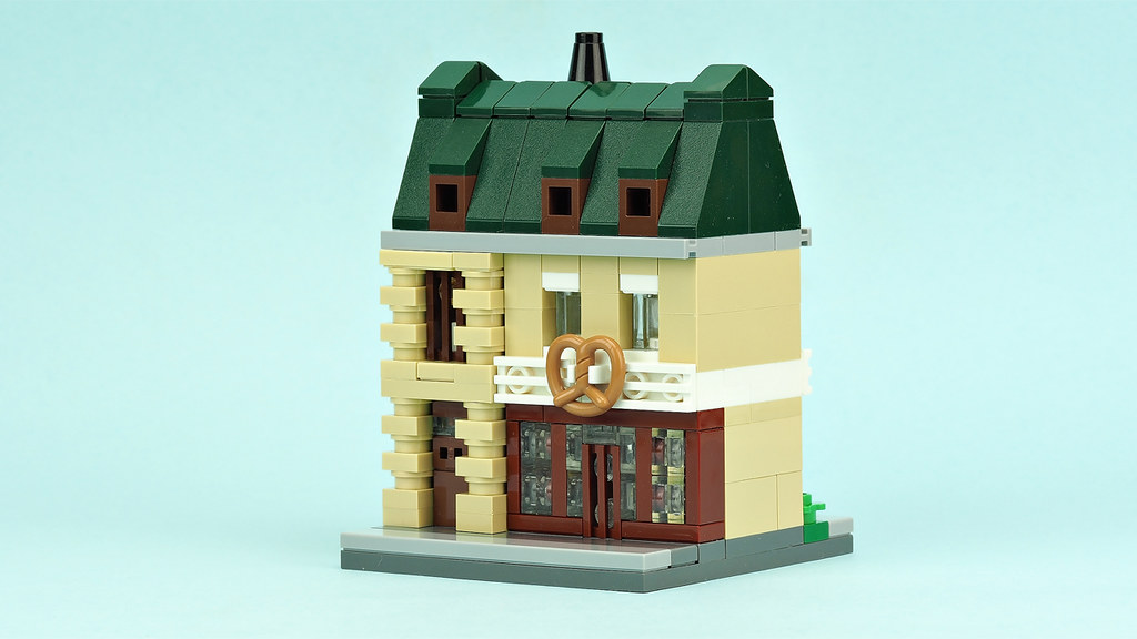 Mini bakery building
