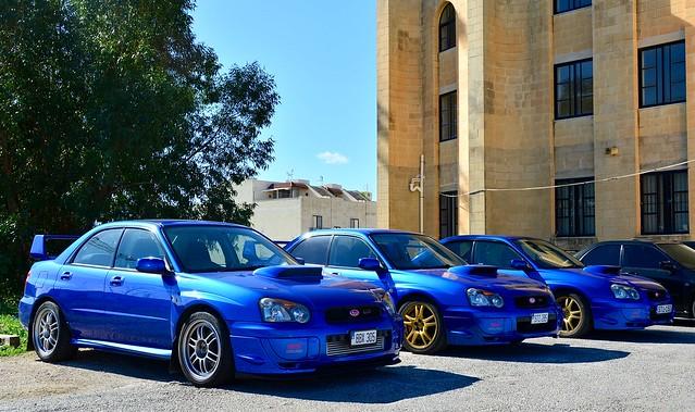 Subaru Impreza's WRX STI