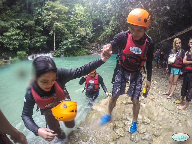 Patty Villegas - The Lifestyle Wanderer - Canyoneering - Badian - Cebu - Cyan Adventures-17