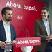 17.11.2017 Rueda de prensa de Pedro Sánchez y Luis Tudanca