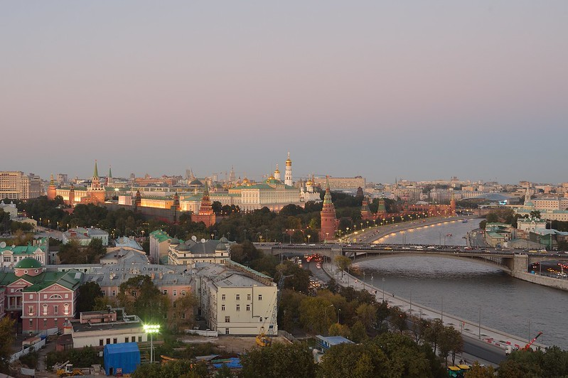 Kremlevskaya Embankment / Moscow / モスクワ