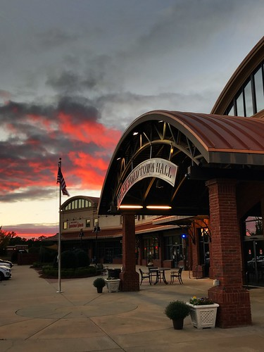Town Hall Sunset