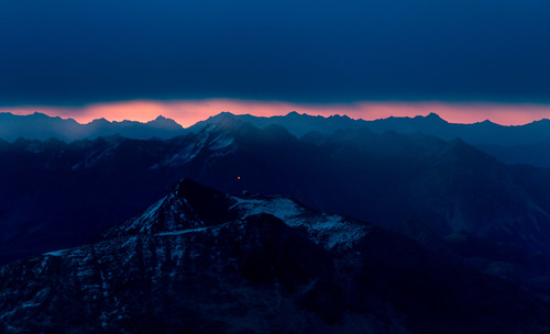 sunrise pizlanguard grisons alps mountains sky switzerland earlybird