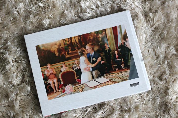 Onze trouwfoto's gezien door ons Albelli trouwboek