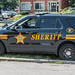 Small photo of Cuyahoga County Sheriff cruiser - side