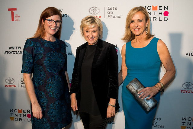 Tina Brown Shines Dallas Spotlight On Female Power-Players With Women In The World Salon