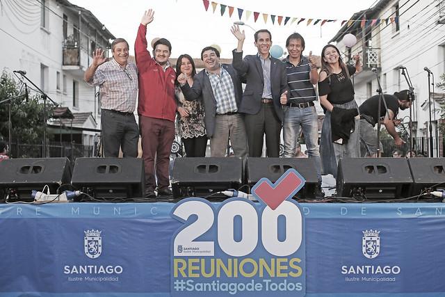 Visita N°200 - Tallarinata barrio Yarur