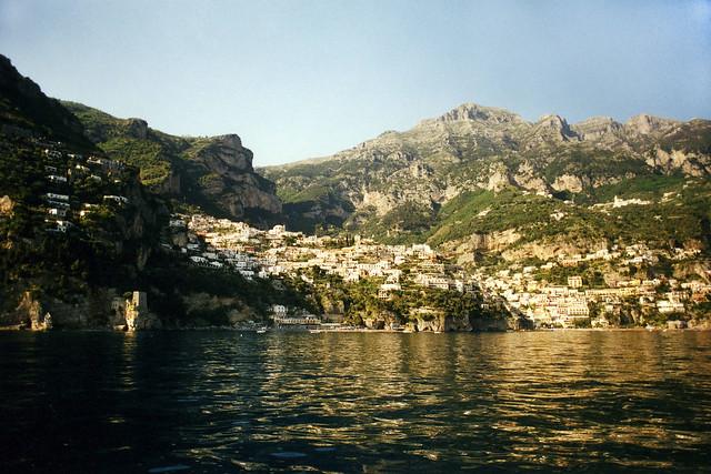 Approaching Positano