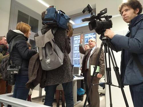 Opening vernieuwde kantoren Nl afdeling REA Brusse
