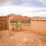 The road to Aït Benhaddou
